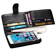 Supper Wallet Style PU Leathe Case for iPhone 6 4.7