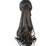 Cosplay Wigs Cosplay Cosplay Brown Medium Anime/ Video Games Cosplay Wigs 45 CM Heat Resistant Fiber Female