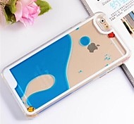 pattern mundo submarino pc capa mole para iPhone 6 Plus (cores sortidas)
