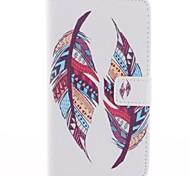 dos piezas de diseño de la pluma de cuero de la PU caso de cuerpo completo para sony xperia t3