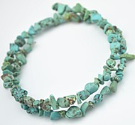 Toonykelly Cute Small Natural Irregular Turquoise Stone DIY Material Beads 20g/Bag