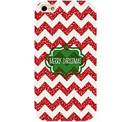 Merry Christmas Pattern Back Case For Iphone 4/4s