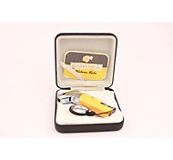 Creative Personality Molding Cigar Special Lighters Yellow  Black