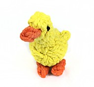 Ducks Style Cotton Rope Toys, Pet Dogs And Cats (1 Pcs, Yellow)