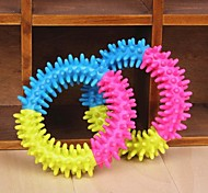Colourful Loop Shaped Chew Toys for Pet Dogs 1 Piece
