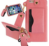 KARZEA™ Luxury Slim PU Leather Carrying Protective Case with Stand and Stylus for iPhone 6 (Assorted Colors)