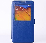 Skylight PU Leather Full Body Case with Stand for SAMSUNG GALAXY Note 3 N9000(Assorted Colors)