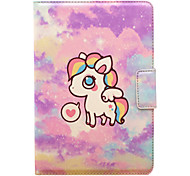 High Quality Rainbow Charming PU Leather with Stand Case for 7.9 Inch iPad Mini 1/2/3 Tablet