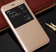 Beittal® Simple Style PU Leather Cover for iPhone 6 Plus