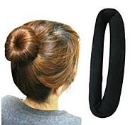 Fashion Flannel Sweet Black Cotton Dish Hair Tools