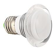 E26/E27 3 W 1 High Power LED 210 LM RGB Globe Bulbs AC 85-265 V