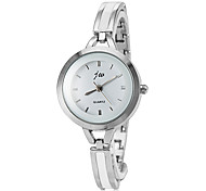 Women's Quartz Silver Alloy Band Analog Wrist Watch Cool Watches Unique Watches Fashion Watch