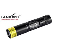 Tank007® UV  TK566  Professional 1-Mode  1x 365-1W  LED Flashlight (1xAA, Black)