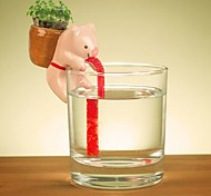 NEJE Self Watering Animal Plant Planters - Pig (Clover)