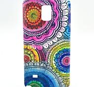 Para Samsung Galaxy Note Diseños Funda Cubierta Trasera Funda Flor TPU Samsung Note 4