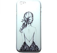 DF® The Girl Next Door Pattern Hard Back Case for iPhone 6