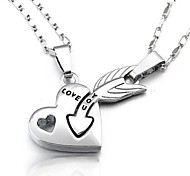 Love You Couple Necklace