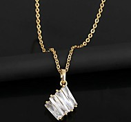Women's Diamond Pendant Necklace