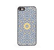 Yellow Flower Design Aluminium Hard Case for iPhone 4/4S