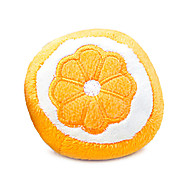 Orange Shaped Squeaking Toy For Pet Dogs