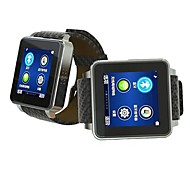 EC306 Top Grade Leather Band Watch Phone &Smart Watch EC306  (Smart Watch + Watch Phone , 2 in 1)
