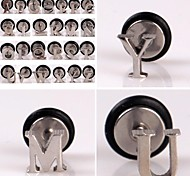 Eruner®Fashion English Alphabet Stainless Steel Earrings(1PCS)
