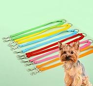Cat / Dog Leashes Adjustable/Retractable / Cosplay Rainbow Nylon