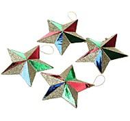 g10 рождественские звезды украшения (4 шт)