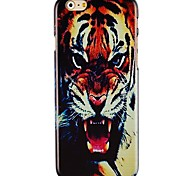 Tiger Head Pattern Hard Back Case for iPhone 6 Plus