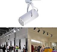 Luminária com Trilho 12 W 0 LM 2800-6500 K Branco Quente / Branco Natural / Branco Frio 12 LED de Alta Potência AC 85-265 V Giratória