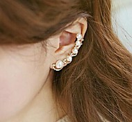 Love Is Your Sweet Pearl Ear Bones Clip Earrings