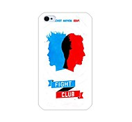 fight club modello di caso per iPhone 4 / 4S