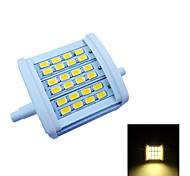 R7S 7W 24 SMD 5630 770 LM Warm White Recessed Retrofit Decorative LED Flood Lights AC 85-265 V