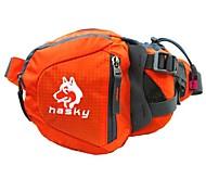 Hasky® Tear-Resistant Nylon Multifunctional Hiking Waist Bag/CrossShoulder Bag/HandBag