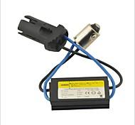 Car Light BA9S LED Decoder Anti Flicker Warning Canceller(Strong Socket)