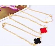 Love Is You a Clover Charm Bracelet
