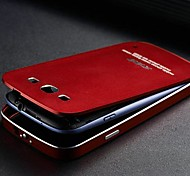 Two-in-one KX Brand Metal Frame Full Metal Backboard Metal Hard Case for Samsung Galaxy S3(Assorted Colors)