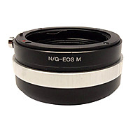 Jaray Nikon-EOS/M  Adapter Ring for Canon EOS M