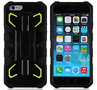 The New Rocket Design Sell Like Hot Cakes TPU and PC Cover with Support for iPhone 6(Assorted Colors)