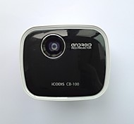 Codis Android4.4 FWVGA DLP Smart Pico-Projector with(USB, Micro SD,Optical Track Pad,Micro USB-OTG,Wi-Fi)in
