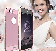 RJUST The Diamond Shining  Aluminum Case for iPhone 6