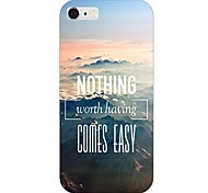 Mountain Top Pattern Back Case for iPhone 6
