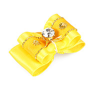 Dog Hair Accessories Spring/Fall - Yellow Terylene