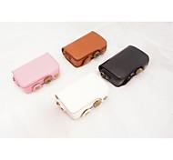 Dengpin Retro PU Leather Detachable Camera Case Bag Cover with Shoulder Strap for Casio Exilim ZR50 EX-ZR50