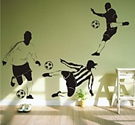 pegatinas de pared de tatuajes de pared, pvc fútbol contemporáneo pegatinas de pared