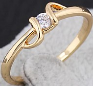 Contracted With AAA Zircon Statement Ring
