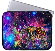 Elonbo Bright Star and Exotic Elephant 13'' Laptop Waterproof Sleeve Case Bag for Macbook Pro/Air Dell HP Acer