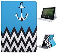 DF Luxury  Wave Pattern with Auto Sleep/Wake Up Full Body Case  for iPad 2/3/4