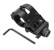 LS074 25mm Flashlight Torch Rifle Scope Mount Weaver 20mm Picatinny Rail