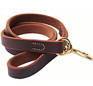 Cody Durable Cow Leather Thicken Leashes for Pets Dogs